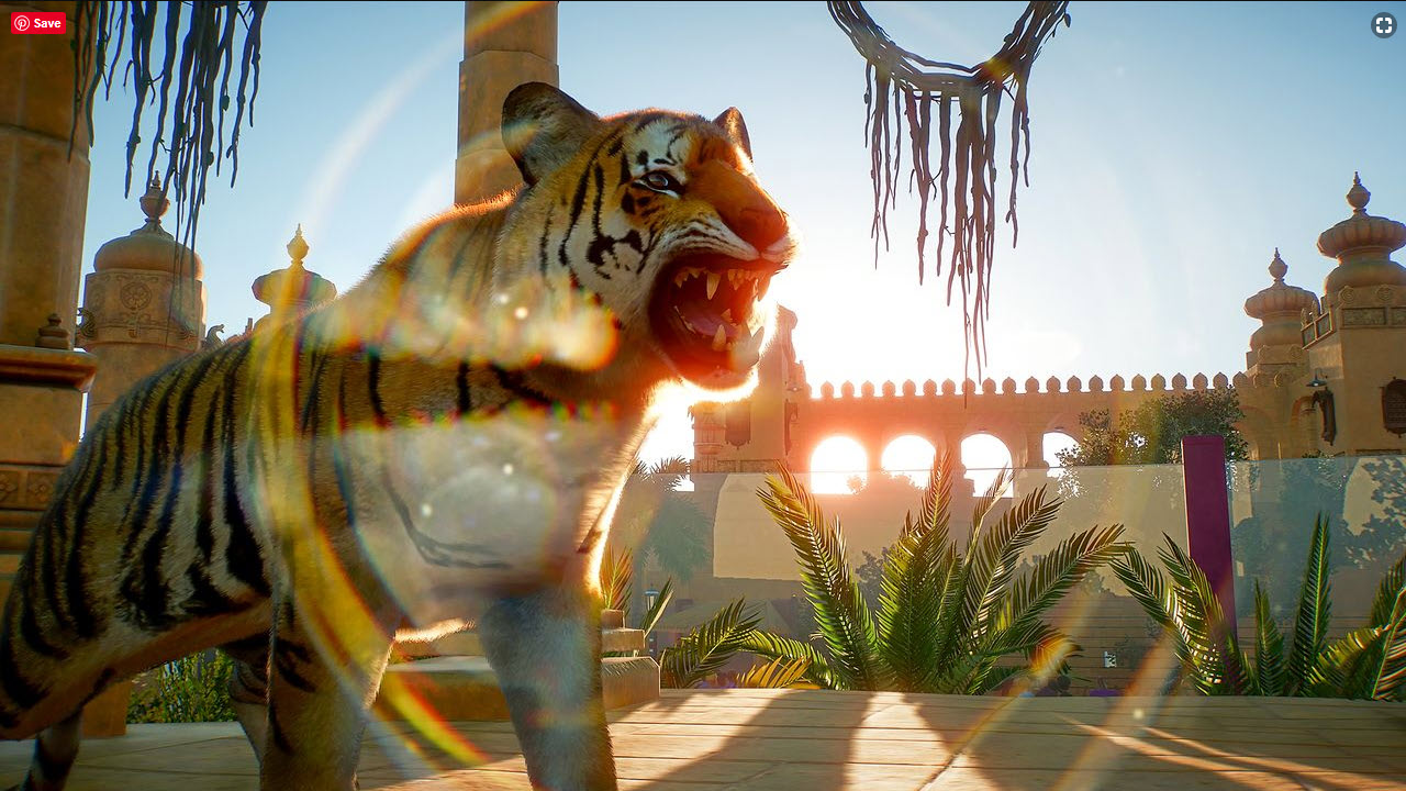 Planet Zoo Tiger